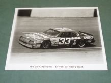 CHEVROLET MONTE CARLO NASCAR #33 Harry Gant team press kit photo 1987?